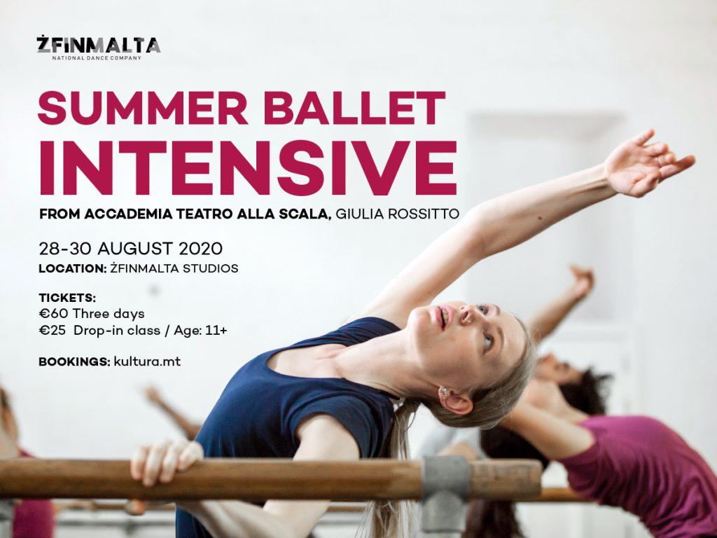 ZfinMalta Summer Ballet Intensive